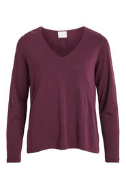 Long Sleeved Top V-neck