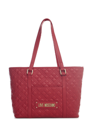 QUILTED PU TOTE BAG