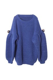 KNAST by KRUTTER - Chloe Knitted Sweater - Blue