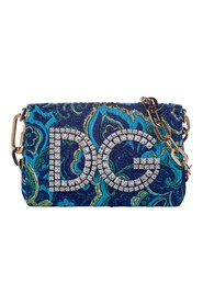 DG Girls Embellished Chain Shoulder Bag