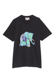 Printed Oversized Tee Visionz