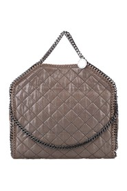 Quilted Falabella Tote Bag