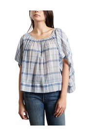Hard Chequered Blouse