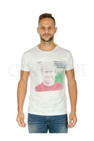 SIR BOBBY CHARLTON STAMP T-SHIRT