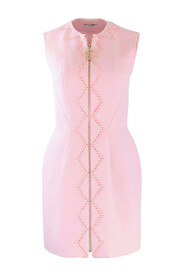 Collection Zip Through Dress with Crystals