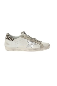 Superstar distressed sneakers