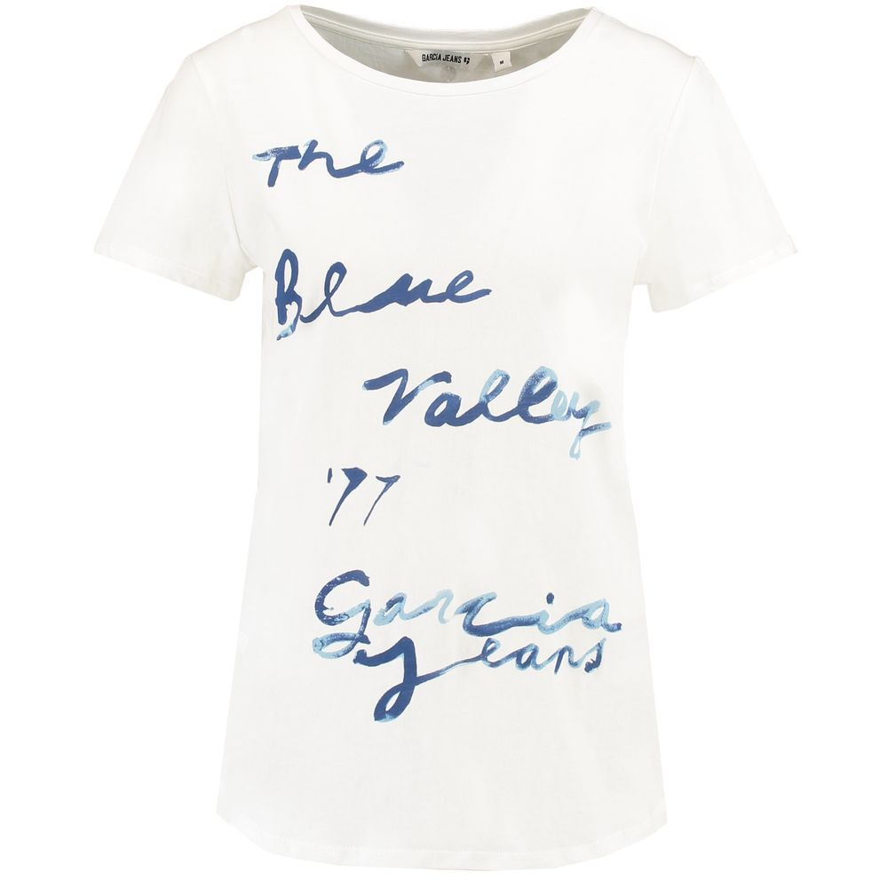 Garcia Jeans - Top Blue Valley - off white