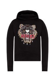 Hoodie with tiger