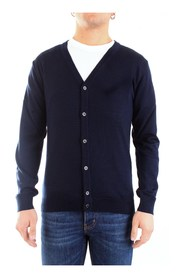 0024 CARDIGAN Men BLUE