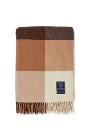 Checked Recycled Wool Throw Diverse
