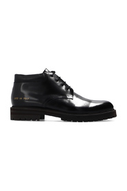 Combat Derby ankle boots