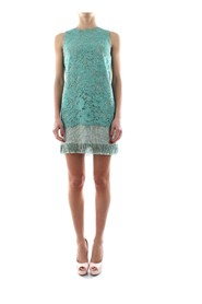 ELISABETTA FRANCHI AB02103E2 DRESS Women Verde tiffany