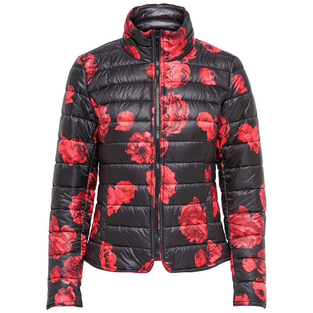 Quilted jacket Floral printed