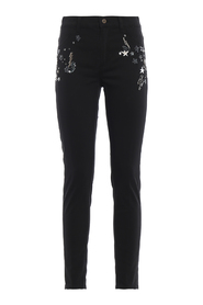 Appetite super skinny jeans with applications