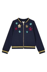 Star Sequin Unicorn Kids Girl Daywear Cardigans