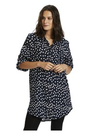 vivian Dot Shirt Dress