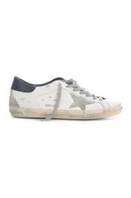SUPERSTAR gco LEATHER UPPER SUEDE STAR SHINY LEATHER HEEL SNEAKERS