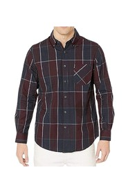 Shirt Plaid Print Button Down
