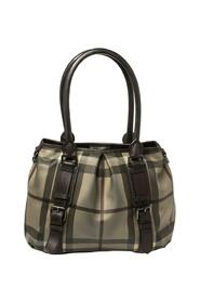 Pre-owned Check PVC and Leather Lowry Shoulder Bag
