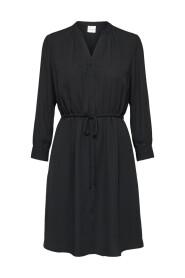 Langermet kjole Løs passform