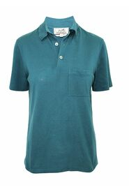 brugte H Embroidered Buttoned Polo Shirt