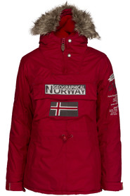 Geographical Norway Building lady Anorak
