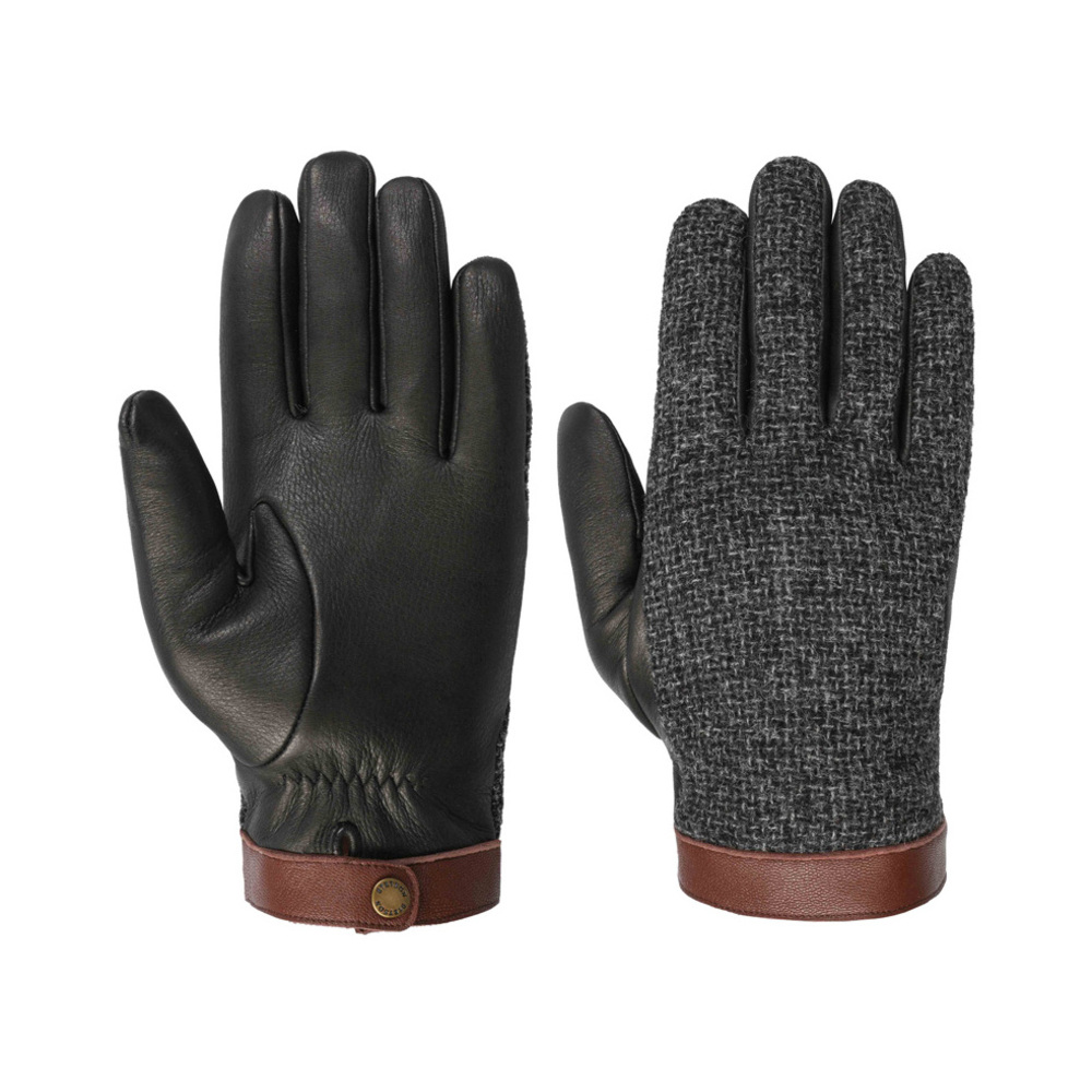 Se Stetson Stetson Gloves Deer / Wool ved Miinto