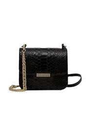 Aristote python effect leather bag