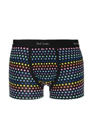 Patterned boxers with logo
