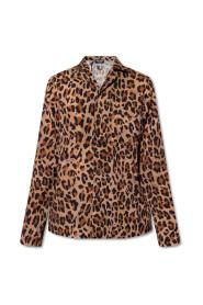 Pyjama top with animal motif
