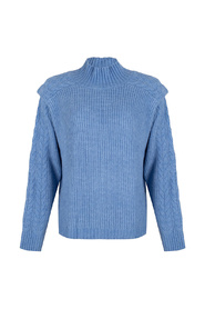 F21.31506 Sweater cable shldr detail