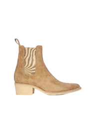 CREPE POINTY TOE CHELSA BOOT