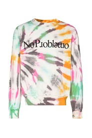 NO PROBLEM SWEATSHIRT CRUSTY DYE
