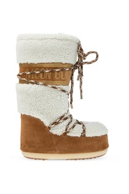 'Shearling' snow boots