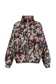 Jacket with floral motif