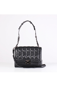 Karl lagerfeld kuilted shopper tote bag