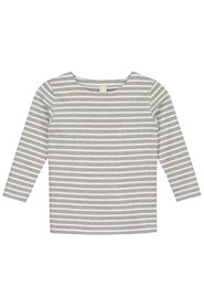 Grå Gray label Striped Genser