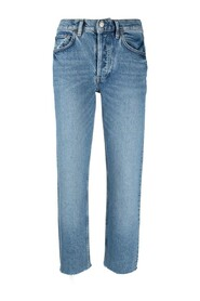 THE TOMMY STRETCH HIGH RISE STRAIGHT JEAN