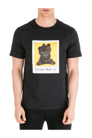 short sleeve t-shirt crew neckline jumper fetish bear