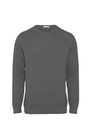 Field O-neck Structured Knit