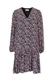 Dress Robe V-Neck Flounced VERCI