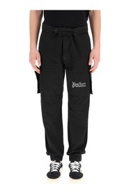 cargo pants with logo