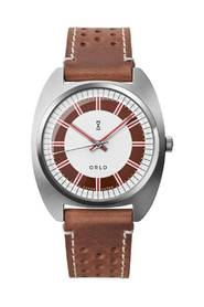 Orlo Bowen - Steel Brown - 39 Mm