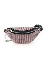 Attica mini beltpack bag with crystals