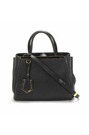 Pre-owned 2Jours Tote Bag in black calfskin leather