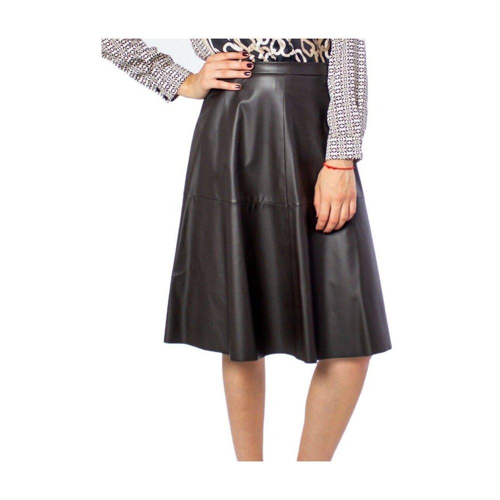 Skirt Faux-Leather
