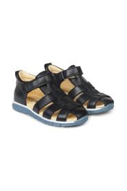 Starter sandaler med velcrolukning