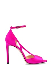 'Liu' satin stiletto pumps