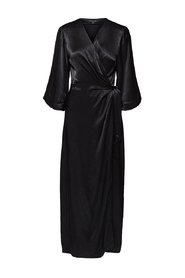 Maxi dress Satin wrap