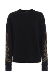 Rope embroidery sweatshirt